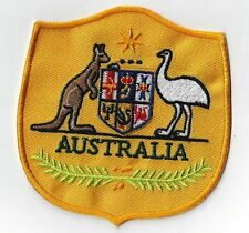 AUSTRALIAN SOCCER  CREST IRON ON or SewOn patch BUY 2 GET THREE OF THESE