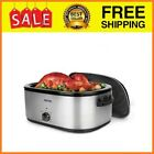 22Qt Roaster Oven Beautiful and sleek stainless steel exterior with removable en photo