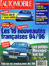 magazine automobile: L'automobile N°564 juin 1993