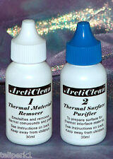 Arctic Silver ArctiClean Thermal Paste Remover/Cleaner, 2 Part Set
