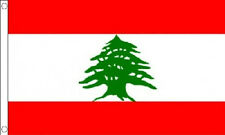 5' x 3' Lebanon Flag Lebanese National The Middle East Banner