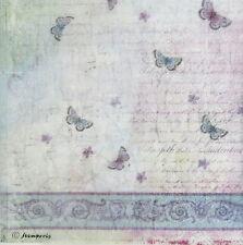 Hoja de papel de arroz Decoupage Scrapbooking textura con Mariposa