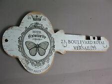 Nostalgie Landhaus Holz  Schlüsselbrett  40 cm chabby chick Schlüsselkasten