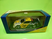 MINICHAMPS 1:43 OPEL CALIBRA DTM PRESENTATION 1995  K.LUDWIG  - NEAR MINT IN BOX
