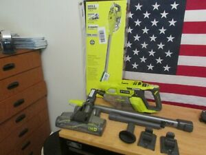 Ryobi 18v One+ Brushless Stick Vacuum Cleaner Model# P724  Bare Tool 487