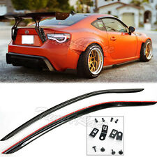 For 13-Up Toyota Scion FRS JDM Window Rain Guard Shield Deflector Visors CLIP ON