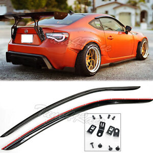 For 13-Up Toyota 86 Scion FRS BRZ JDM Window Rain Guard Deflector Visors CLIP ON