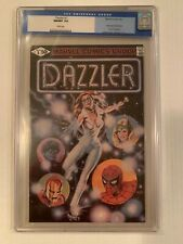 DAZZLER 1 CGC 9.8 W pages.    FIRST ISSUE OF SOLO SERIES