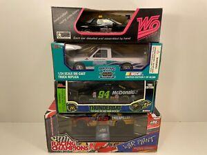 LOT OF 4  - 1/24 Diecast NASCAR #22 #94 Pace Car Daytona War Paint Wooden-Oodens