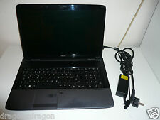 "Acer Aspire 7535 17,3"" Ordinateur Portable, AMD 2,1ghz, 3 Go Ram, 300 Go HDD, win7, garantie"