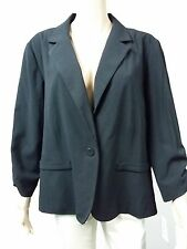 NEW - Jessica Howard - Size 20W - Jacket Three Quarter Ruch Sleeve - Black $69