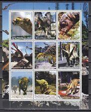 Mali, 1998 Cinderella issue. Dinosaurs sheet of 9. *