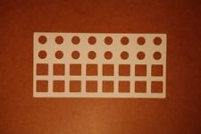 3 Blanko-Overlays für Arturia Beatstep