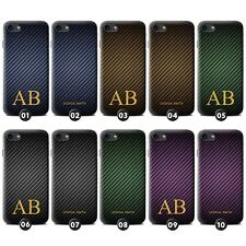Personalised Carbon Fibre Effect Phone Case/Cover for ASUS Smartphone Initial