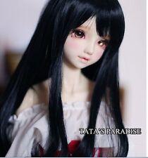1 4 7-8 Dal BJD SD MSD Wig MDD DOD LUTS DOC Dollfie Doll Toy Black Barbie wigs