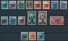Trieste (Italy) #1-17 COMPLETE; AMG OVERPRINTS MH; NO FAULTS; F-VF; CV $380