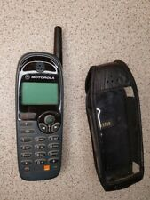 Retro Motorola C520 GSM Mobile Phone - with Leather Case