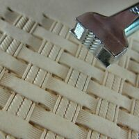 Pro Crafters Series - Double Rope Basket Weave Stamp (Leather Stamping Tool)