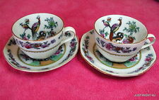 {SET OF 2} F Winkle (Old Chelsea) CUP & SAUCER SETS  Whielden Ware