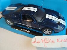 MINIATURE VOITURE FORD GT  BLEUE   1/32 NEW RAY