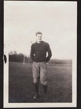 VINTAGE 1920 BLAIR ACADEMY BLAIRSTOWN NEW JERSEY FOOTBALL PLAYER SPORTS PHOTO
