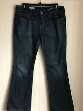 Gap 1969 Sexy Boyfriend Jeans Size 28/6r Perfect Boot Mid Rise Stonewashed Denim