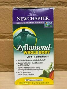 New Chapter Zyflamend Whole Body 120ct - 08/22+ READ DESC.