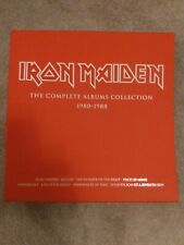 """IRON MAIDEN """"The Complete Albums Collection 1980-1988 Box only"""