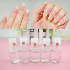 5ml Nail Art Hardener Vitamin Transparent Clear Top Coat Nail Polish Coat Cover