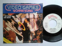 """Ronnie Jones / Video Games 7"""" Vinyl Single 1980 mit Schutzhülle"""