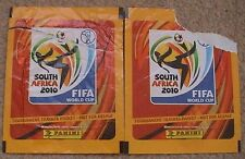 2010 World Cup South Africa - FIFA Sticker Album 2 Opened Packets (Panini)