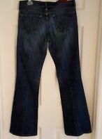 AG ADRIANO GOLDSCHMIED Womens Jeans Size 27 The Club Mid Rise Flare Blue Denim