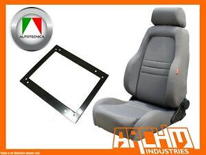 AUTOTECNICA ADVENTURER 4WD SEAT CLOTH GREY LANDCRUISER 75-79 UTE RIGHT ADAPTOR