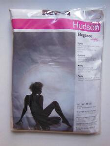 Hudson Glanzstrumpfhose With Lycra Vintage Elegance Moor Brown_12-14