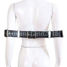 New Faux leather Bondage Restraints Belt Waist & Wrist Hand Cuffs Slave Locking
