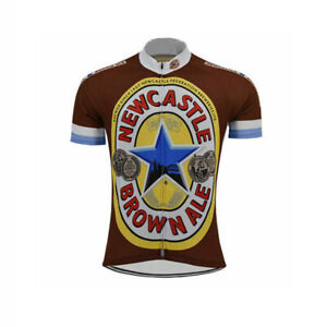 Newcastle brown ale Cycling Jersey MTB Cycling Jersey Short Sleeve