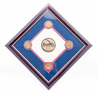 NEW - MLB Atlanta Braves Collectible Infield Dirt Plaque - FREE SHIPPING