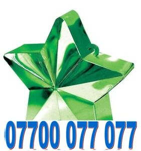 UNIQUE EXCLUSIVE RARE GOLD EASY VIP MOBILE PHONE NUMBER SIM CARD > 07700 077 077
