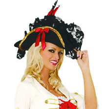 Perfect Pirate Hat! Costume! Small Woman Kid Teen Sea Wench Captain