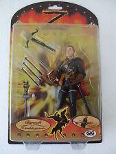 Giochi Preziosi Spa Zorro Action Figure Cm.15 invincibile Spadaccino Giocattoli
