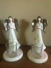 Yankee Candle Christmas Angel Votive Candle Holders - Set of 2