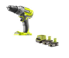 Ryobi Perceuse Visseuse Percussion 2x 18 V 1,5 Ah Lithium+ batteries, ...