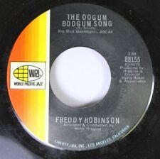 Jazz 45 Freddy Robinson - The Oogum Boogum Song / Black Fox On Wpj