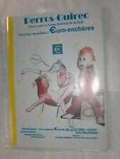 HERGE TINTIN CATALOGUE BD EURO-ENCHERES PERROS-GUIREC 18 AVRIL1999 TBE