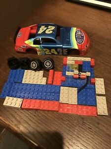 Vintage Nascar Jeff Gordon Lego Set Mega Bloks Building Set #24 Dupont