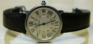 Cartier Ronde Solo Silver Dial Automatic Steel 42 mm XL Watch