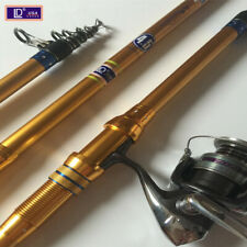 High Carbon Superhard Telescopic Fishing Rod Sea Lake Portable Long Shot Tackle