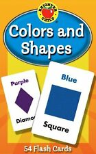 Colors and Shapes Brighter Child Flash Cards Cards