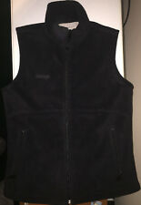 Pacific Trail, Black, Fleece Vest w/ Zippered Front and Pockets, Womans Size S
