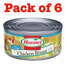 Hormel (Pack Of 6) Premium Chicken Breast 98% Fat Free 10 oz, Exp March 2023